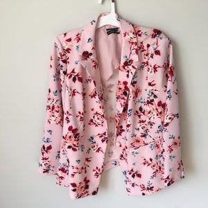 Lane Bryant floral suit jacket top sz 22